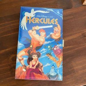 Disney Hercules VHS Clutch